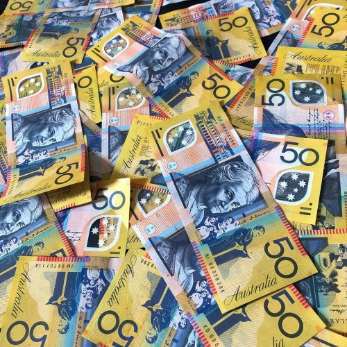 Buy Counterfeit 50 Australian Dollar bills