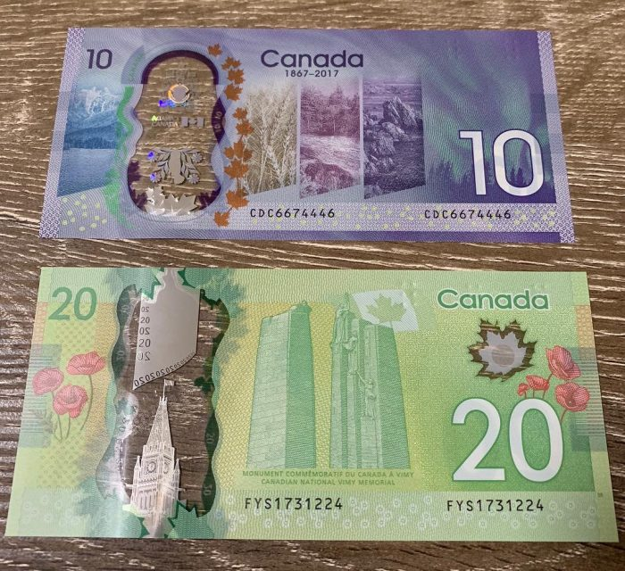 Buy Counterfeit 20 Canadian Dollar bills