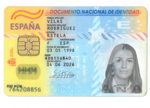 Buy Fake Spanish ID card online