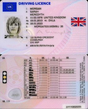 Buy fake UK Drivers Licence online