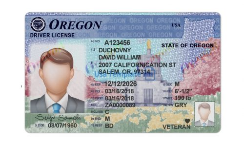 Real and fake Oregon driver's licenses for Sale