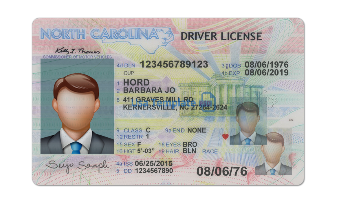real and fake North Carolina driver's licenses for sale